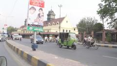 Traffic in Pakistan - stock footage