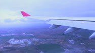 Stock Video Footage of Airplane Seat Window 1