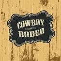 Stock Illustration of grunge background with wild west styled label. vector, eps10.