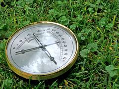 rising temperature - stock photo
