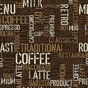 Seamless coffee experience pattern. vector, eps8. Stock Illustration