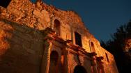 The Alamo in San Antonio Texas HD Video Stock Footage