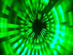 Green digital background - Loop - stock footage