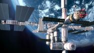 Stock Video Footage of Space Station 1