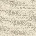 Stock Illustration of abstract handwriting on old vintage paper. seamless pattern, vector, eps10.