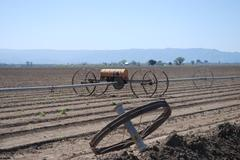 Farming in California - stock photo
