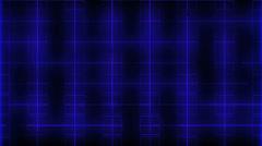 Gird blue Stock Footage