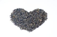 I love tea heart shape Stock Photos