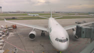 Stock Video Footage of Alitalia Jet