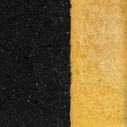 Yellow line on the road Stock Photos