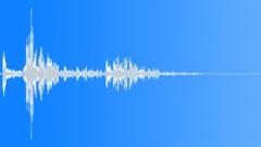 Metal staple press - single - sound effect