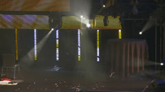 Stage lights Stock Footage
