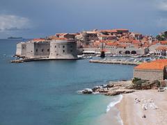 Dubrovnik harbour - stock photo