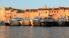 Saint-Tropez - stock footage