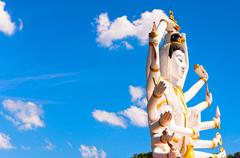 Stock Photo of statue of Shiva in Koh Samui island, Thailand