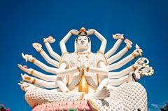 Statue of Shiva in Koh Samui island, Thailand Stock Photos