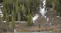Mammoth Lakes LM20 Twin Falls Sierra Nevada Mts California HD Footage