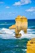 the twelve apostles in great ocean road1 - stock photo