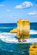 the twelve apostles in great ocean road3 - stock photo