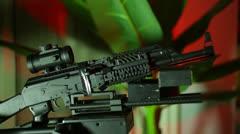 Gun turret turrett Stock Footage