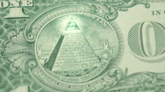 illuminati pyramid - stock footage