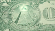 Illuminati pyramid Stock Footage