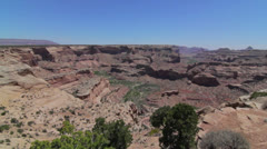 The grand canyon jib shot Stock Footage