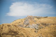 Fortress of Lachish - stock photo