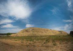 Hill of Lachish Stock Photos
