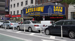 Ed Sullivan Theater Establishing Shot Stock Footage