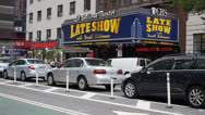 Stock Video Footage of Ed Sullivan Theater Establishing Shot