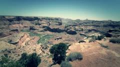 Amazing grand canyon jib shot Stock Footage