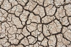 Stock Photo of closeup of dry soil