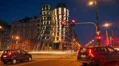 Dancing House,Prague,hd Stock Footage