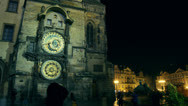 Stock Video Footage of Astronomical Clock,Prague, 4k