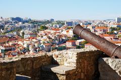 Cannon weapon Stock Photos
