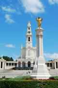 Sanctuary of fatima Stock Photos