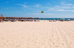 montegordo beach - stock photo