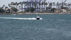 Hi-Speed Boat Stock Footage