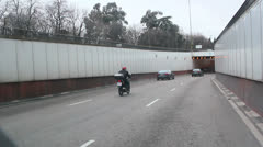 Driving through Calle de Alcala. Madrid, Spain. Stock Footage