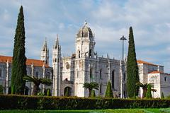 hieronymites monastery - stock photo