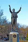 Gustav theodore holst statue in cheltenham Stock Photos