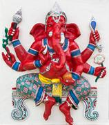 Indian or hindu god named kasipa porasada ganapati Stock Photos