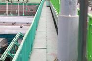 Bridge over railway Stock Photos