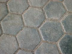 Stock Photo of cobblestone background