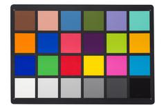 Color Checker - stock photo