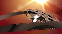 Film Reel Loop - stock footage