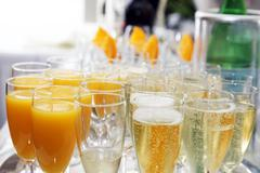 Aperitif is ready Stock Photos