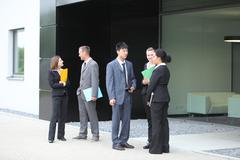 Professional businesspeople Stock Photos