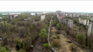 Stock Video Footage of Extinct city Pripyat. Town ghost. (Chernobyl NPP)